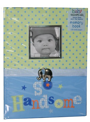 "Baby Essentials� Memory Book ""So Handsome"""