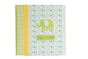 Baby Essentials Jungle Cutout Photo Album