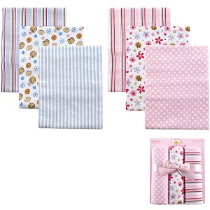 Luvable Friends 3pk Receiving Blanket