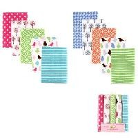 Baby Vision 5-Pack Flannel Receiving Blankets