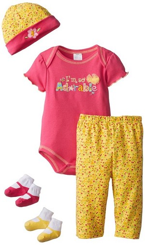 Baby Essentials I'm So Adorable 5 Piece Layette Set