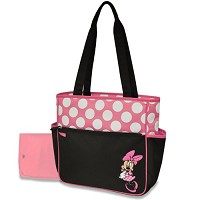 Disney Baby Minnie Polka Dots Diaper Bag