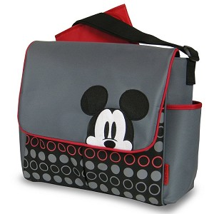 Disney Baby Mickey Messenger Diaper Bag
