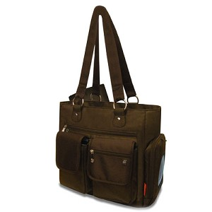 Fisher Price by A.D.Sutton Deluxe Fashion Dipaer Bag Brown