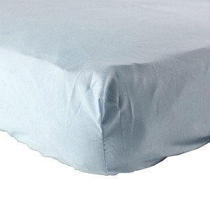Baby Vision Fitted Crib Sheet White