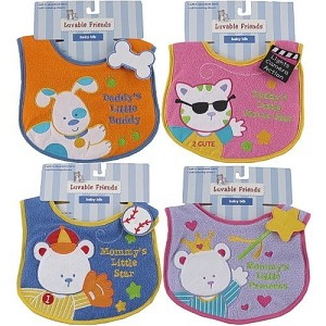Luvable Friends Baby Bib