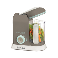 Beaba® BabyCook® Pro 4-in-1 Baby Food Maker, Latte-Mint