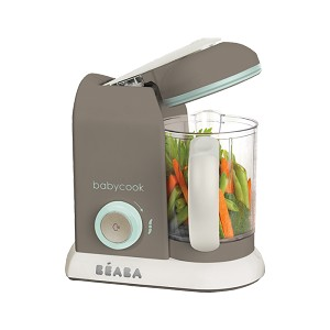 Beaba� BabyCook� Pro 4-in-1 Baby Food Maker, Latte-Mint