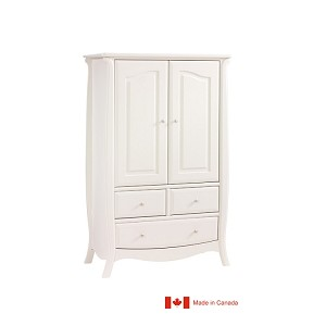 Natart Bella Armoire in Linen