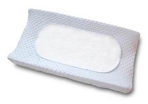 Bobby Changing Pad Set in Blue, Minky Dots 2 Pack