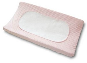 Boppy Changing Pad Set in Pink, Minky Dots 2 Pack