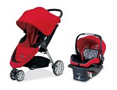 Britax Travel System B-Agile 2014 Red
