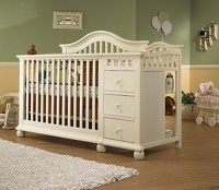 Sorelle Cape Cod Crib N' Changer in French White