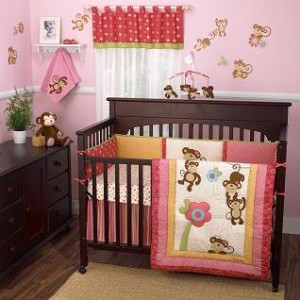 Cocalo Melanie The Monkey Crib Bumper