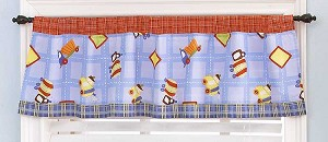 Cocalo Road Work Window Valance