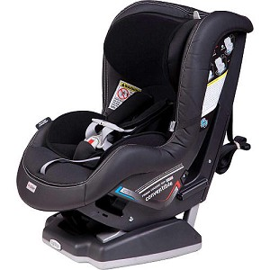 Peg Perego Converitble Carseat in Licorice