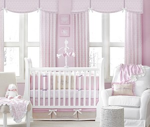 Crown Craft by Wendy Bellissima Sweet Baby Dreams Bedding Set 4-piece