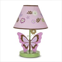Crown Craft Emily Lamp Shade and Base by Nojo