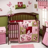 Crown Crafts by NoJo Emily 8 Piece Bedding Set
