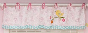 Nojo Love Birds Window Valance
