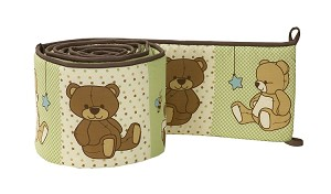 Crown Craft by Nojo Dreamland Teddy Bumper