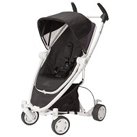 Quinny Zapp Xtra with Folding Seat Stroller in Black Irony