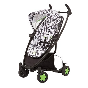 Quinny Zapp Xtra with Folding Seat Stroller Kenson Signature