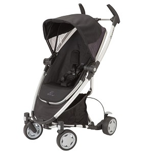 Quinny Zapp Xtra with Folding Seat Stroller Rocking Black