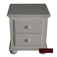 Sorelle Vista Nightstand in French White