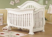 Sorelle Century 4 in 1 Convertible Crib in French White