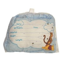 Disney Baby Birth Anouncement Pillow, Tigger & Pooh
