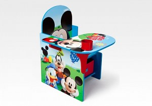 Delta Mickey Mouse Chair Desk with Storage Bin