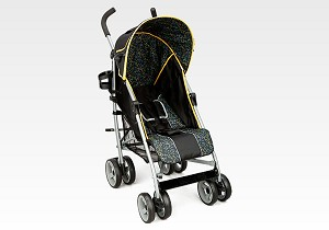 Delta Urban St Lx Stroller Bright Orange