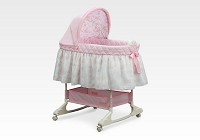 Delta Dream Princess Rocking Bassinet