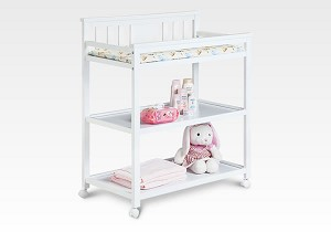 Delta Harlow Changing Table in White