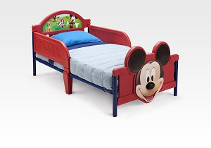 Delta Disney Mickey Mouse 3D Footboard Toddler Bed