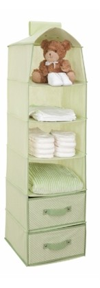 Delta 6 Shelf Storage Hush Green