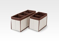 Delta Nursery Organizer 2-PC Set- Beige