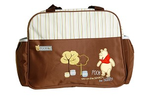 "Baby Essentials ""Search for Hunny"" Winnie the Pooh Diaper Bag"