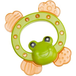 Dubon Water Filled Frog Teether