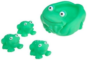 Dubon Frog Set Bath Toy