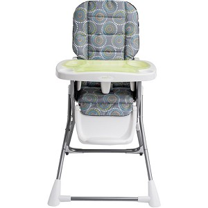 Evenflo Compact Fold High Chair Galaxy