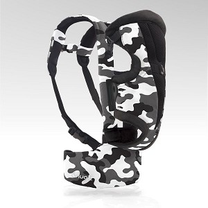 Evenflo Front and Back Snugli Soft Carrier, Camo Black