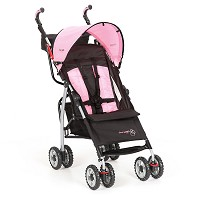 The First Years Jet Stroller Pop of Pink
