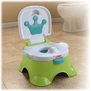 Fisher Price Royal Stepstool Potty