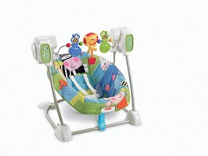 Fisher Price Discovery 'n Grow� SpaceSaver Bouncer Swing