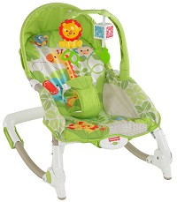 Fisher Price Newborn to Toddler Portable Rocker Saphari