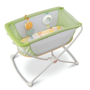 Fisher Price Rock 'n Play� Portable Bassinet - Green
