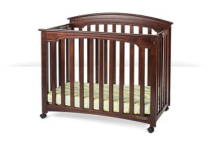 Foundations Stanford Folding Crib Select Cherry
