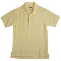 French Toast Pique Polo, Yellow